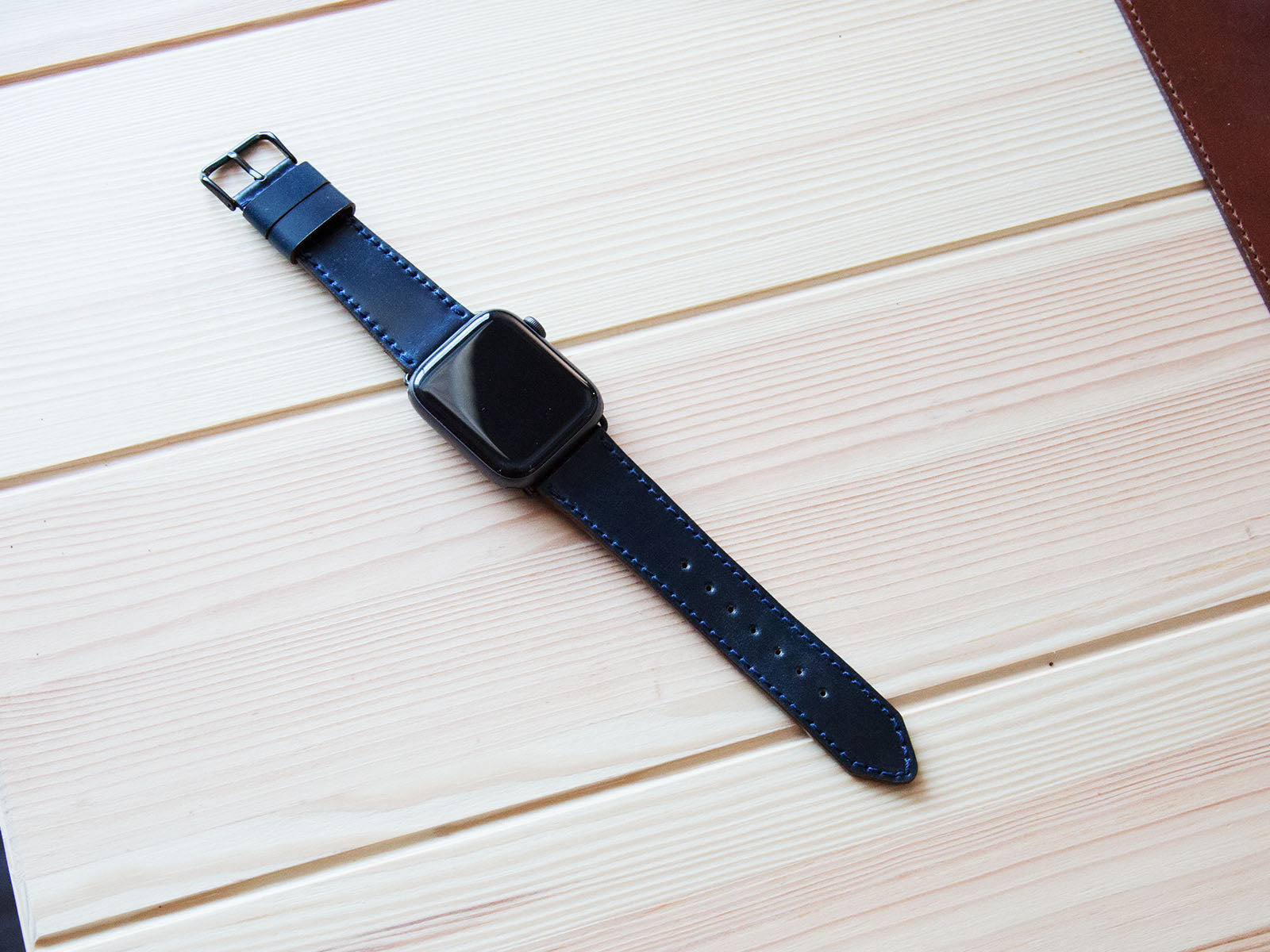Shell Cordovan Apple Watch Band