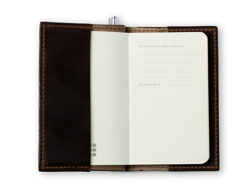 Small Pocket Journal Leather