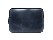 Milwaukee Leather Macbook Case - Navy - olpr.