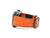 image of orange caiman leather apple watch strap