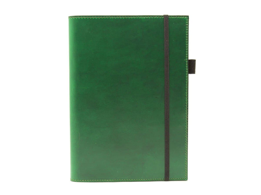 Horween A5 Leather Journal Case - Green - olpr.