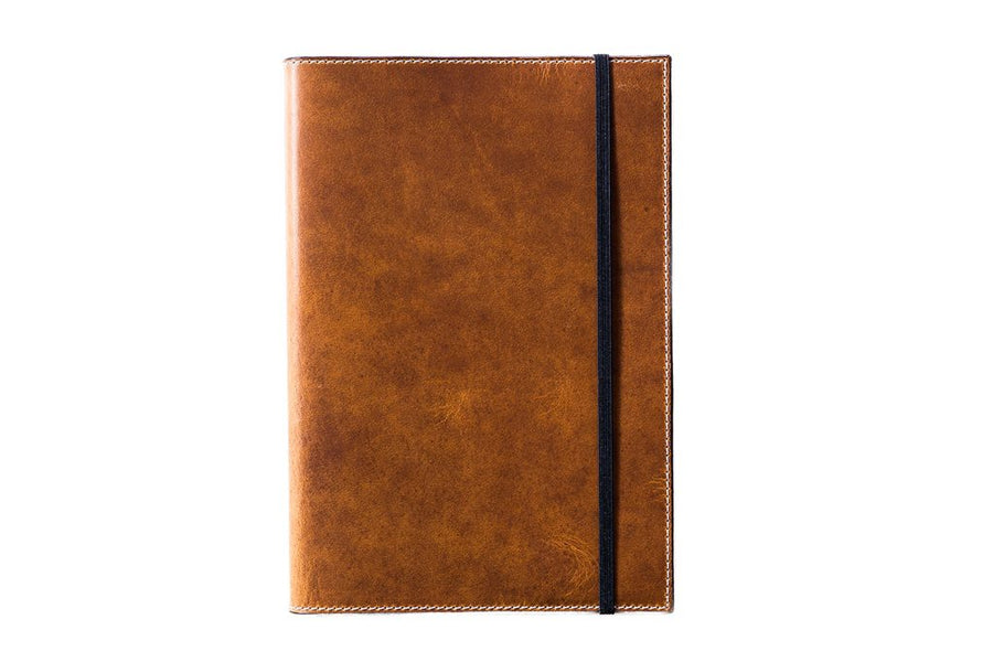 Horween A5 Leather Journal - Natural - olpr.
