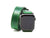 photo of horween leather double wrap apple watch band - green