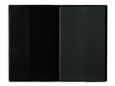 image of xl journal in horween black leather
