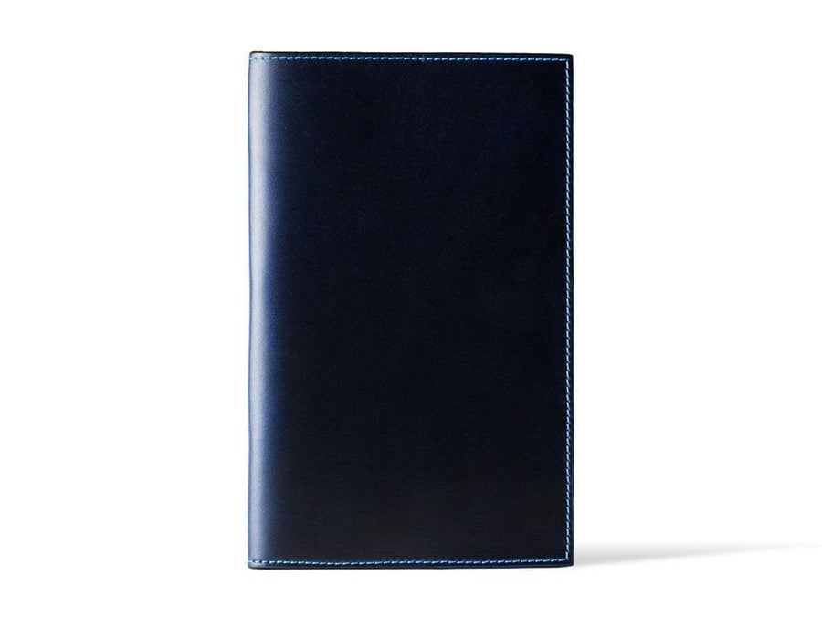 Horween Extra Large Leather Journal - Blue - olpr.