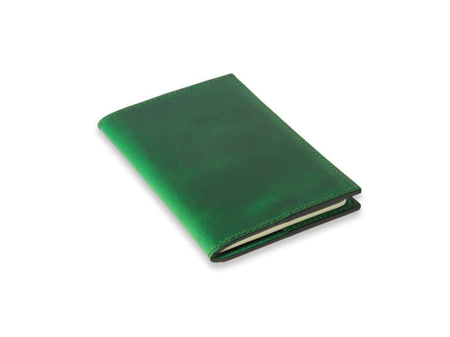 photo of green horween xl leather journal