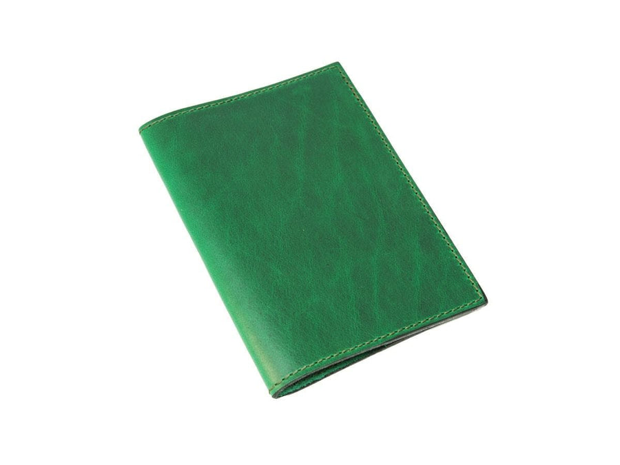 image of xl journal in horween green leather