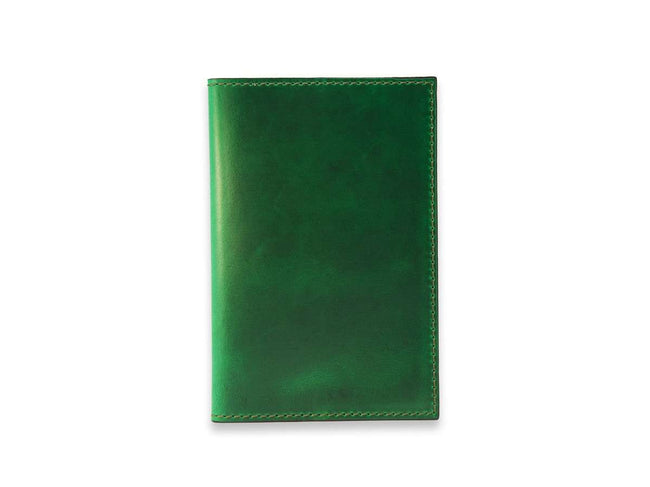 photo of horween extra large leather journal - green