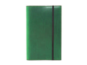 photo of green large leather journal