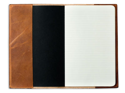 photo of natural horween xl leather journal