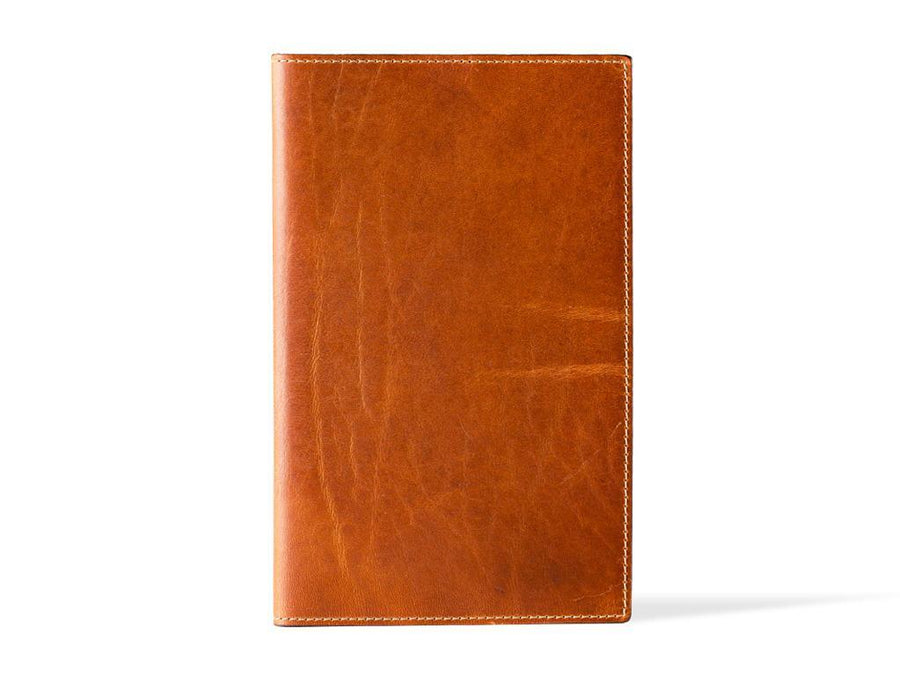 photo of horween pocket leather journal - natural