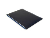 image of horween blue leather macbook case