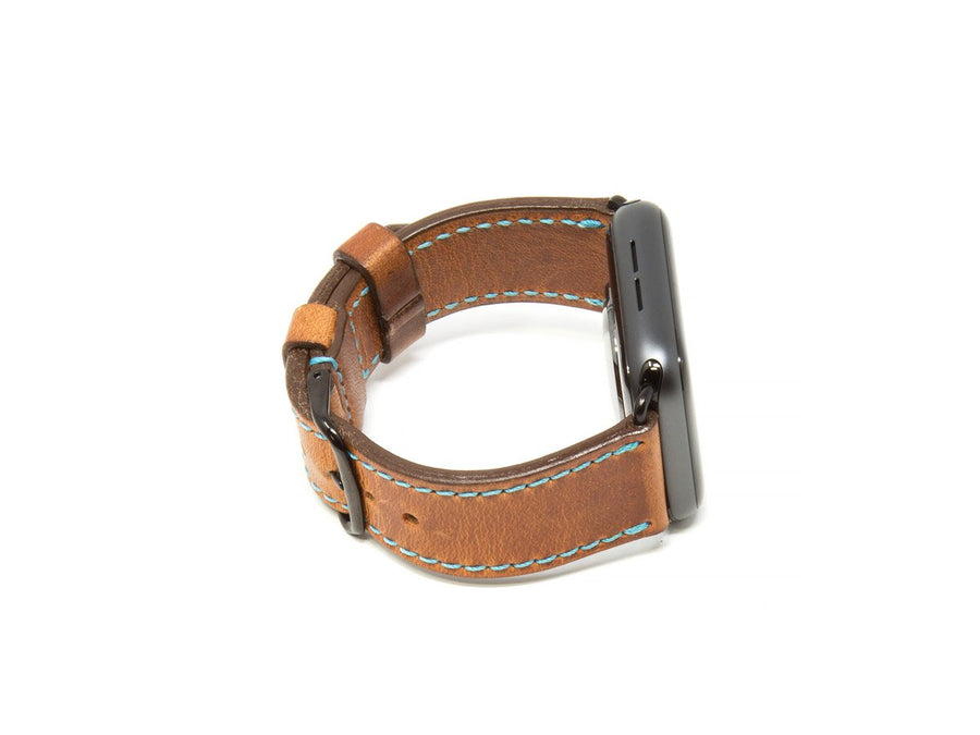 Horween Leather Apple Watch Band - Natural - olpr.