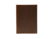 photo of horween leather passport cover - brown