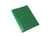 image of real leather passport cover in green color