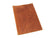 chocolate leather softcover menu holder photo
