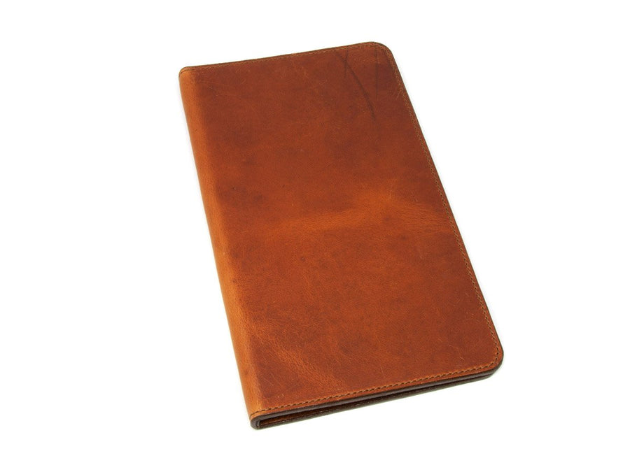 dublin leather menu holder image