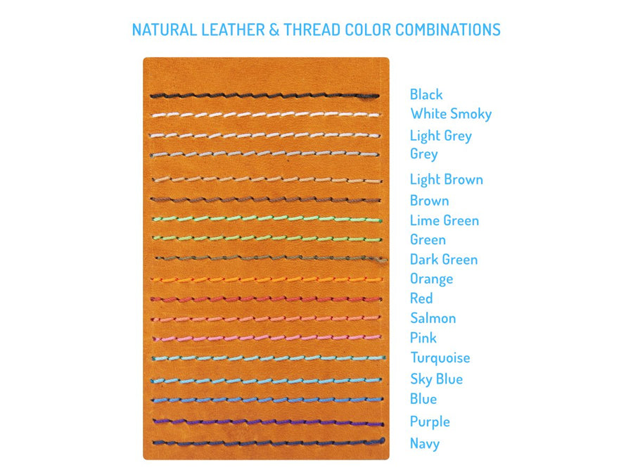 natural leather swatch