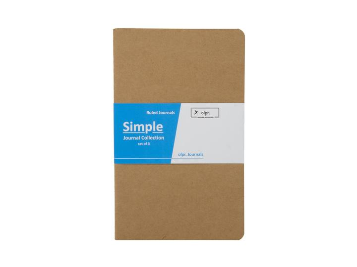 photo of olpr journal refill simple