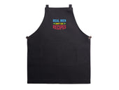 Mens Apron Real Men Don't Use Recipes - Black