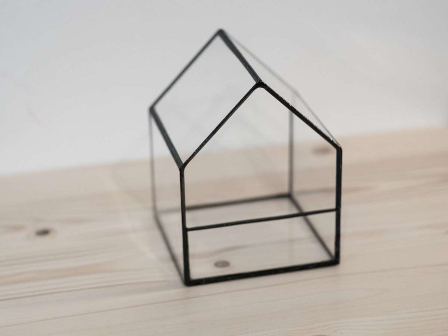 Small House Glass Terrarium - olpr.