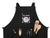 Couple Apron The Artist/The Muse - Black