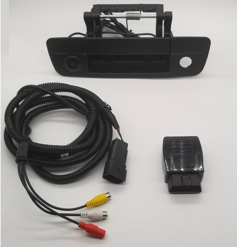 "2013-2018 Dodge Ram 4.3, 5.0, 8.4"" 1500/2500/3500/4500  BACK UP CAMERA KIT **DIY**"