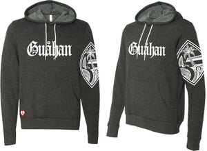 Guahan & Tribal Guam Seal Pull-Over Hoodie