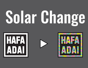 Hafa Adai Square Palm Seal (Solar Change) Tee