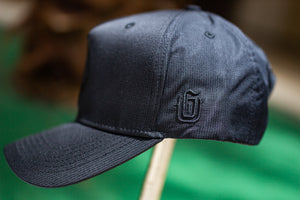 TVG Nylon Hat - Guam Seal Black