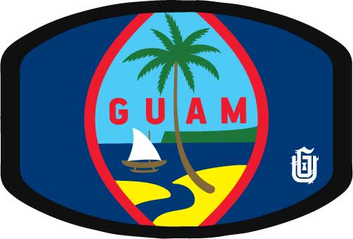 #01 Guam Seal Classic - Poly Cotton Mask