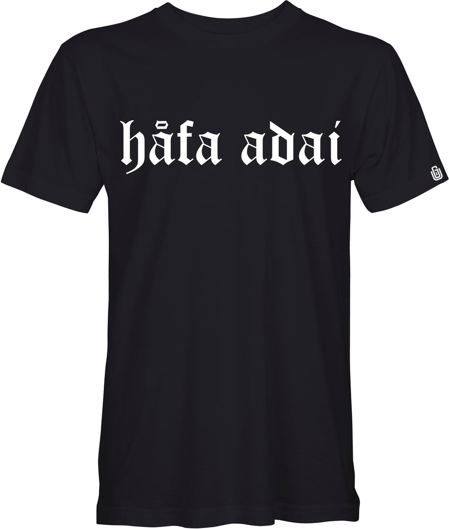 Hafa Adai Tee - Old English