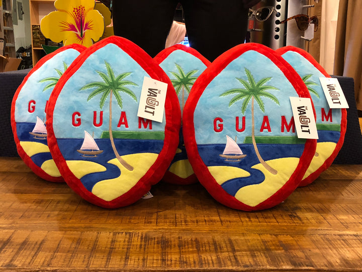 Guam Seal Pillow