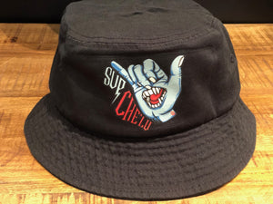 Sup Chelu Bucket Cap (Black)