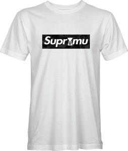 Suprimu Tee - Black Digital