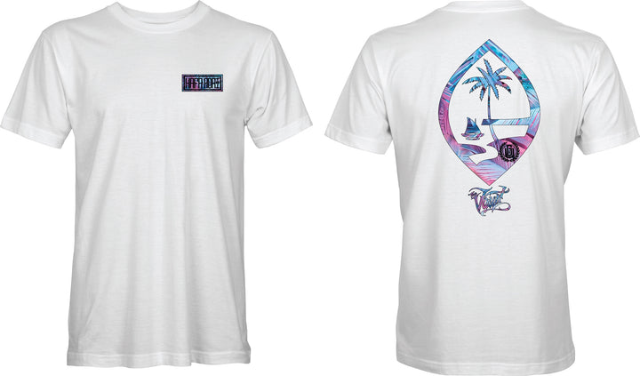 Vapor Leaves Hafa Adai Bar & Seal Tee