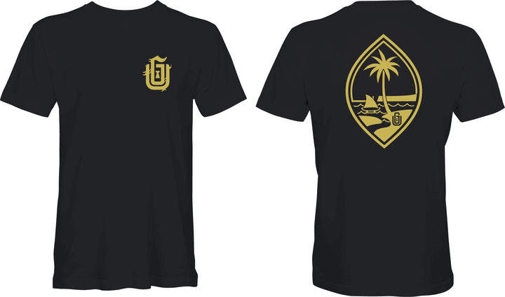 Solid Gold Guam Seal Tee