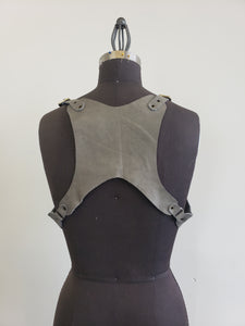 Unisex Leather Harness