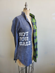 """Not for sale"" top"