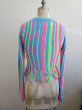 Load image into Gallery viewer, Rainbow crop sweater