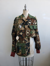 Load image into Gallery viewer, RANDOM Assymetrical Camo jacket