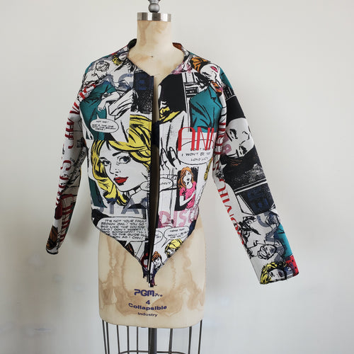 Pop Art 2 Hi-lo Jacket