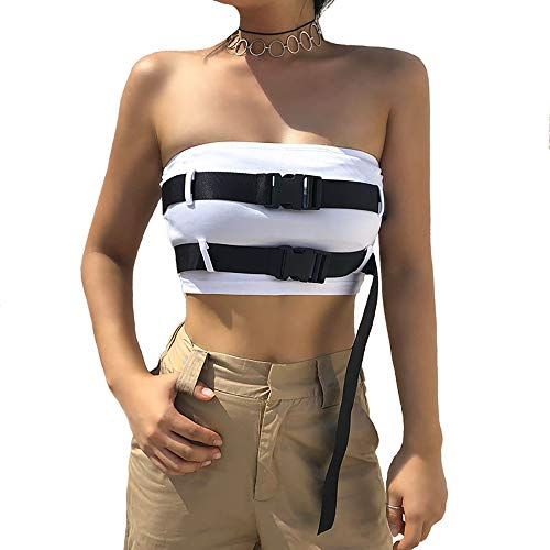 Malianna Backless Strapless Tube Top