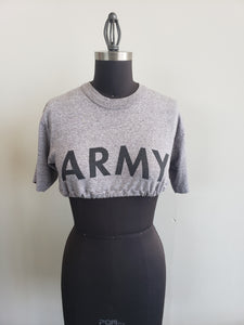 Cropped ARMY shirt