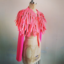 Load image into Gallery viewer, Neon pink zipper Epaulette