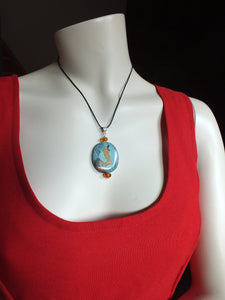 Collier en agate naturelle