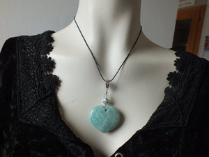 Collier avec  amazonite