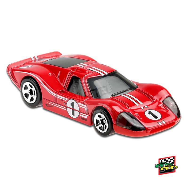 Hot Wheels - '67 FORD GT40 MK.IV - GRX30