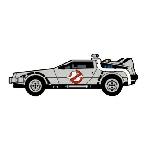 Smart Pins - Limited Edition Ghostbusters / Back to the Future Enamel Pin Badge Brooch