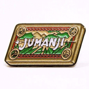 Smart Pins - Limited Edition Jumanji Enamel Pin Badge Brooch